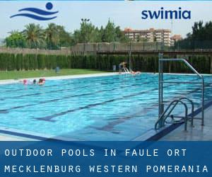 Outdoor Pools in Faule Ort (Mecklenburg-Western Pomerania)